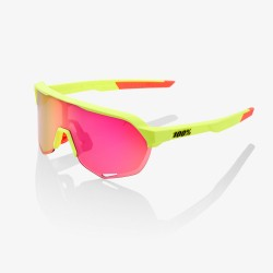 100% s2 matte washed out neon yellow purple multilayer