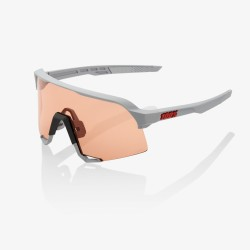 100% S3 Soft Tact Stone Grey Hiper Coral lens