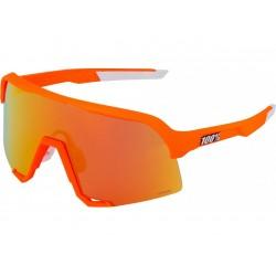 100% S3 neon orange Mathieu Van Der Poel
