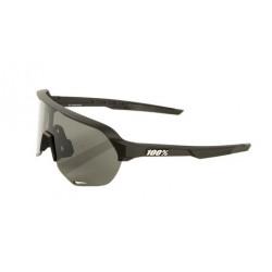 Gafas 100% S2 soft tact black smoke lens