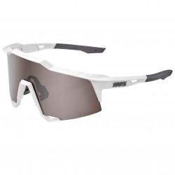 100% Speedcraft matte white hiper silver multilayer mirror lens