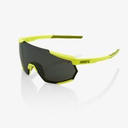 100% Racetrap Soft Tact Banana Black Mirror Lens