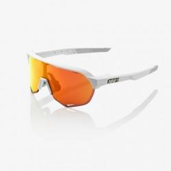 100% S2 lente espejada multicapa hiper blanco mate naranja
